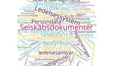 Selskabsdokumenter Ledelsessystem ISO Dokumentstyring